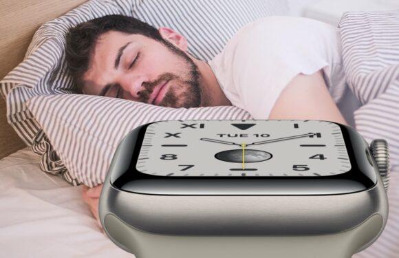 watchos slaap
