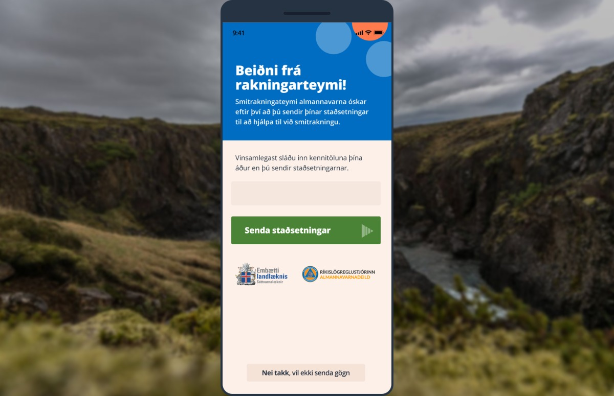 buitenland corona-apps ijsland