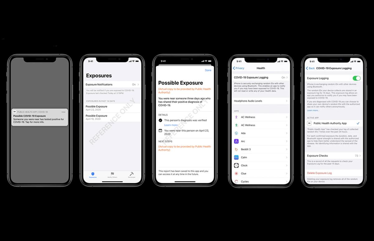corona-app op iphone