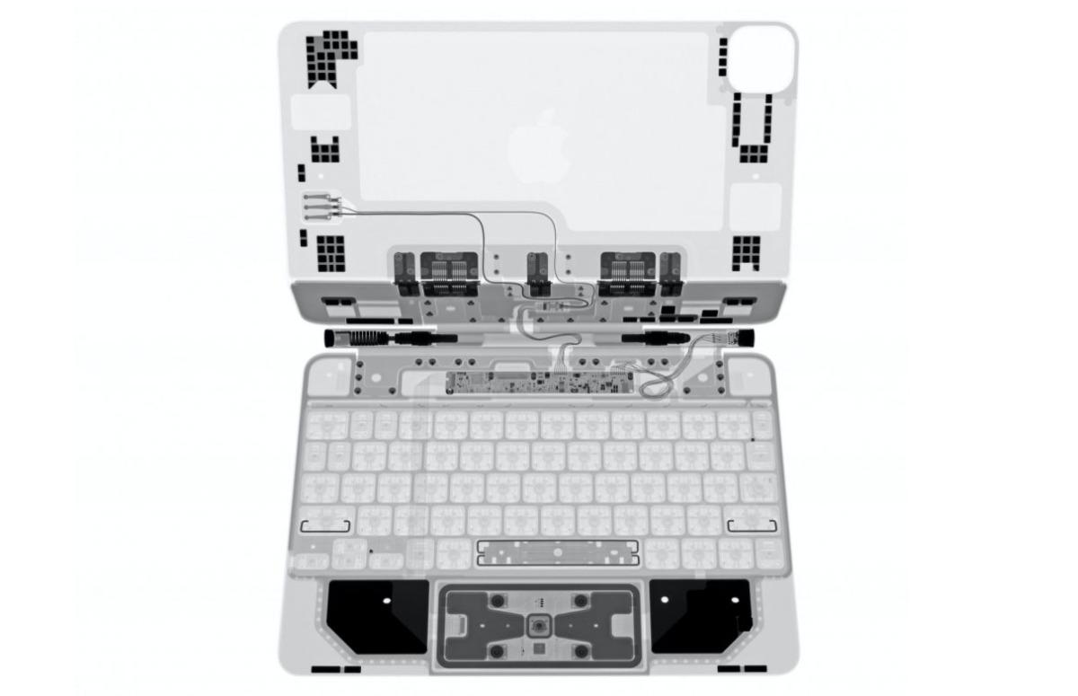 Teardown: Zo zit het Magic Keyboard van de iPad Pro in elkaar