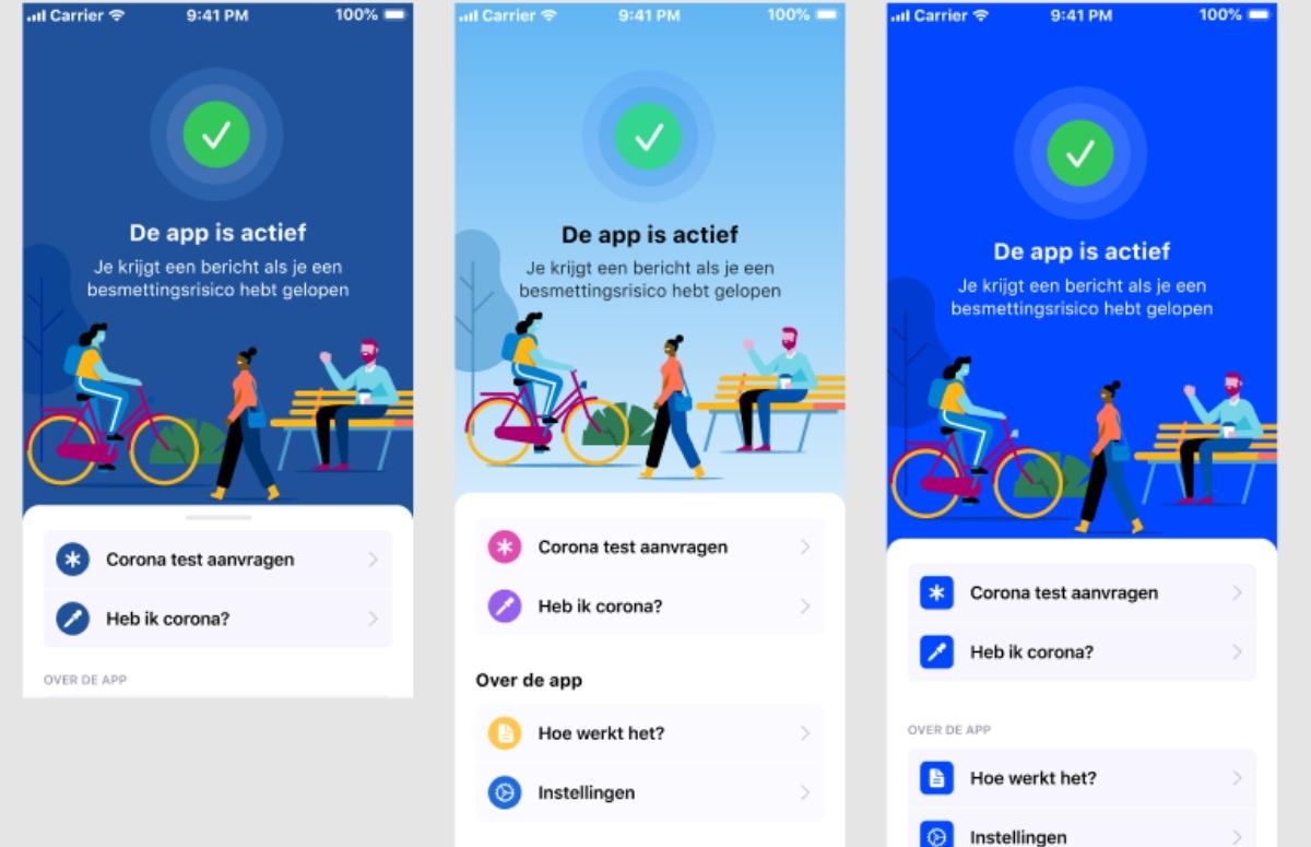 Eerste versie van Nederlandse corona-app onthuld