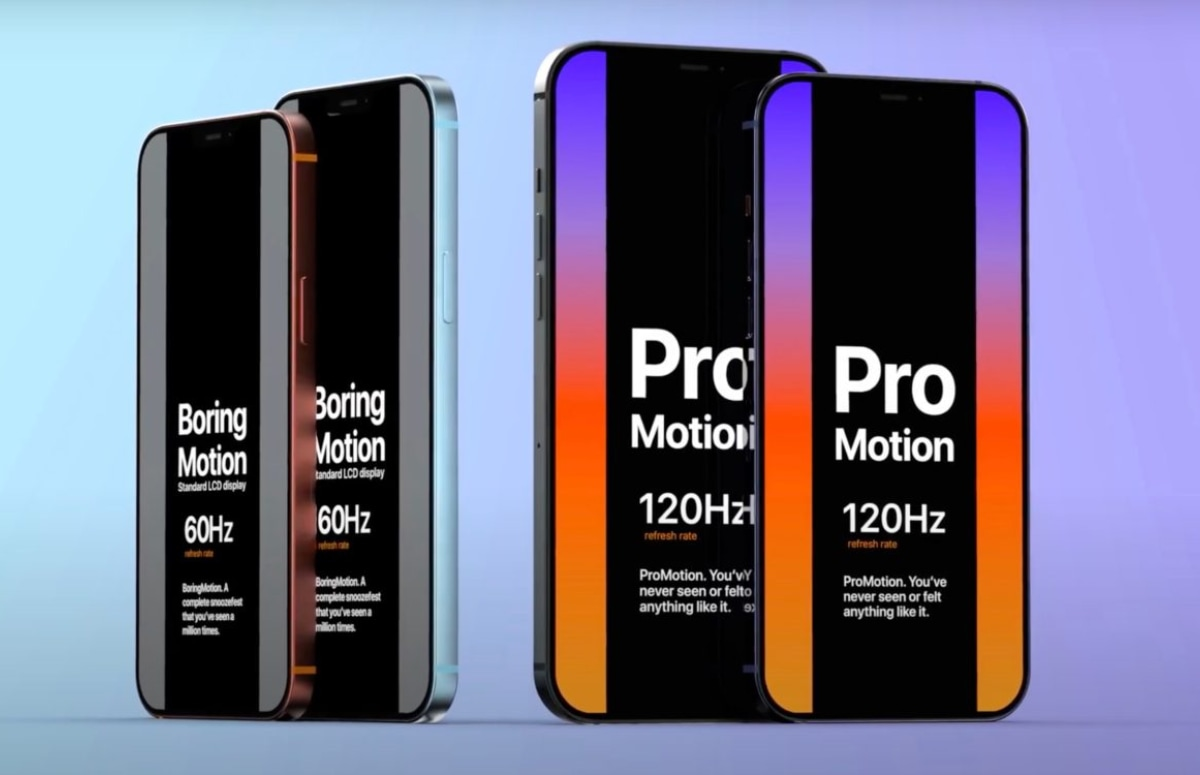 'iPhone 12 Pro en iPhone 12 Pro Max krijgen 120Hz ProMotion-scherm'