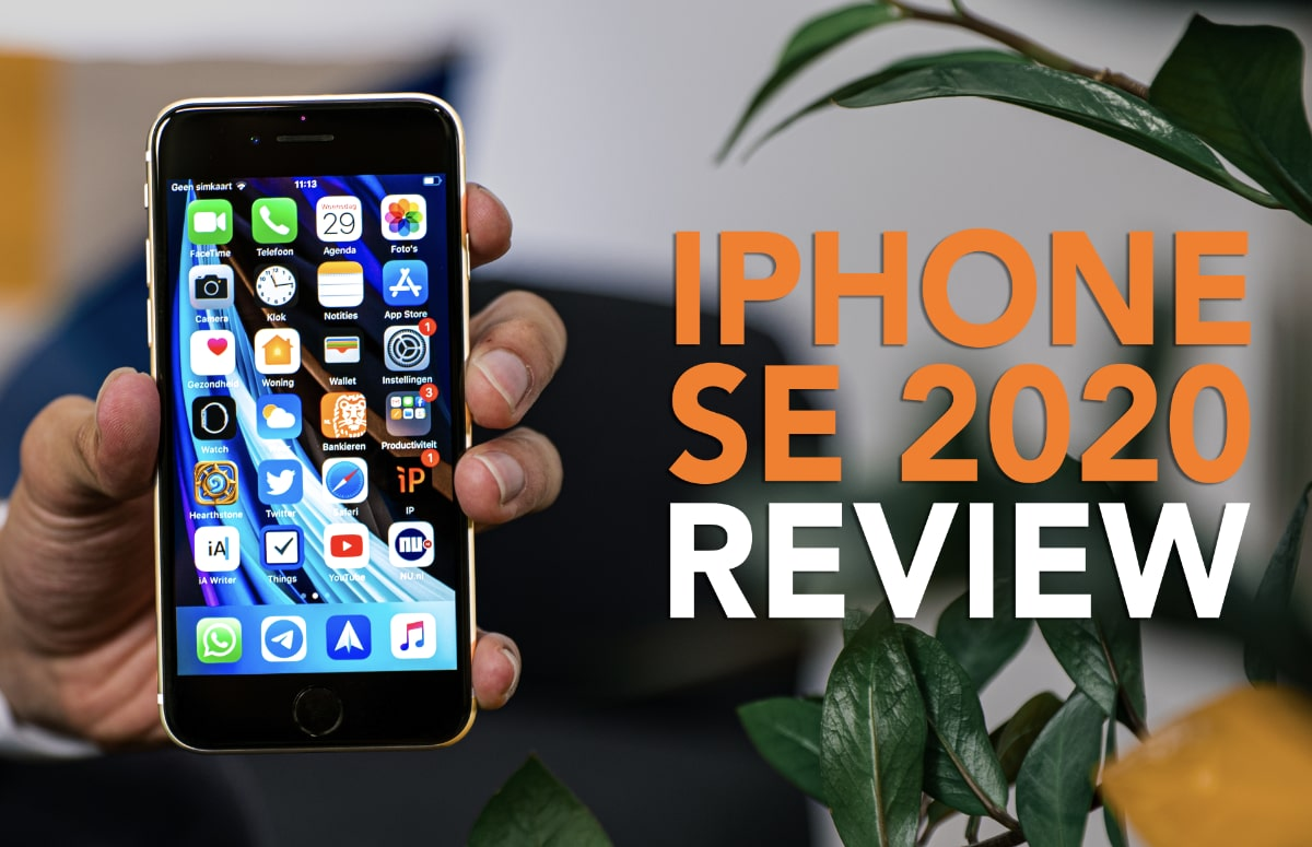 iPhone SE 2020 (video)review: de instap-iPhone waar je op gewacht hebt