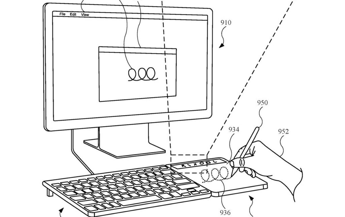 Patent: Nieuwe Magic Trackpad krijgt Apple Pencil-ondersteuning