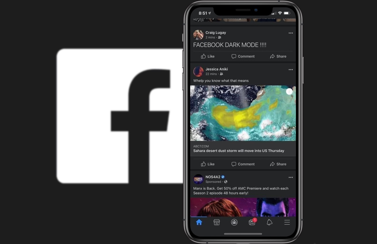 Facebook rolt donkere modus uit: zo activeer je het