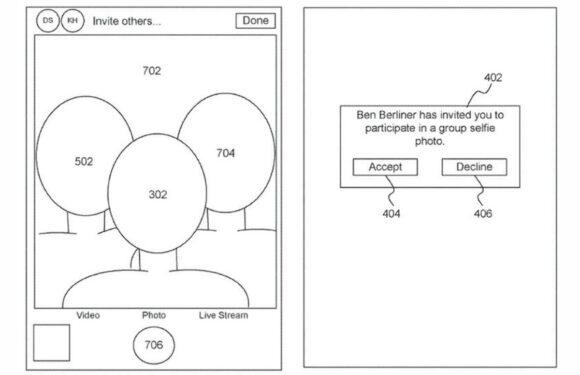 iPhone groepsselfies patent
