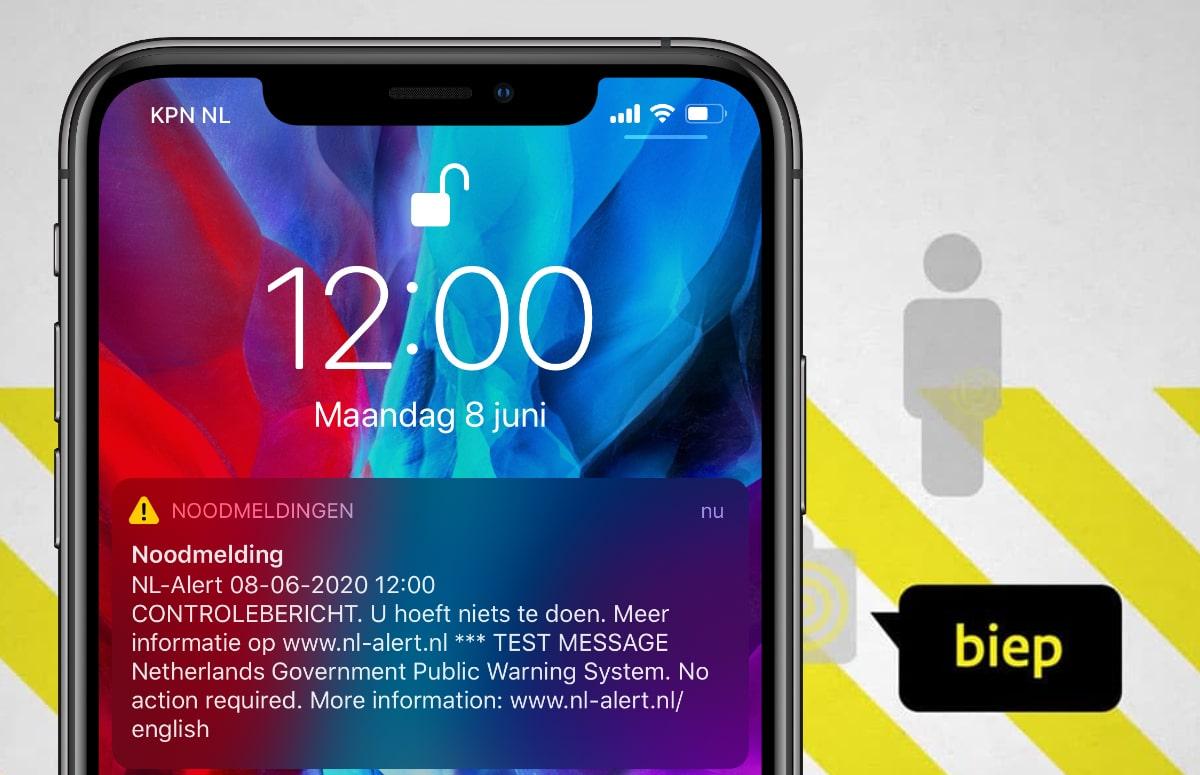 Zo kun je NL Alert instellen op de iPhone