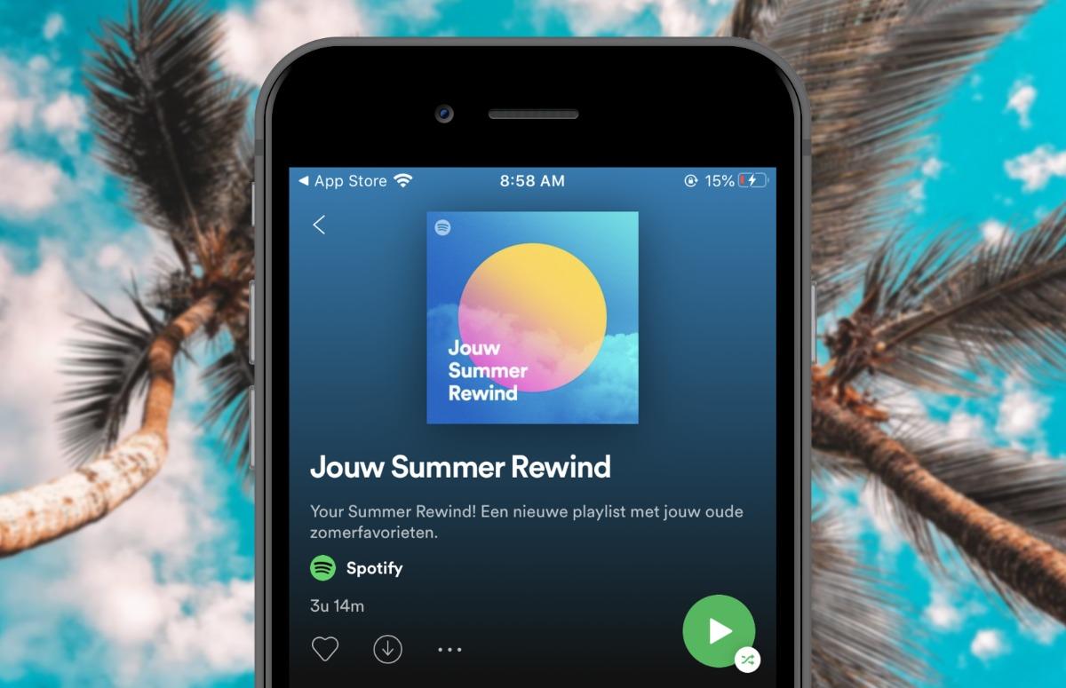 Summer Rewind: Haal zomerse herinneringen op met deze Spotify-playlist