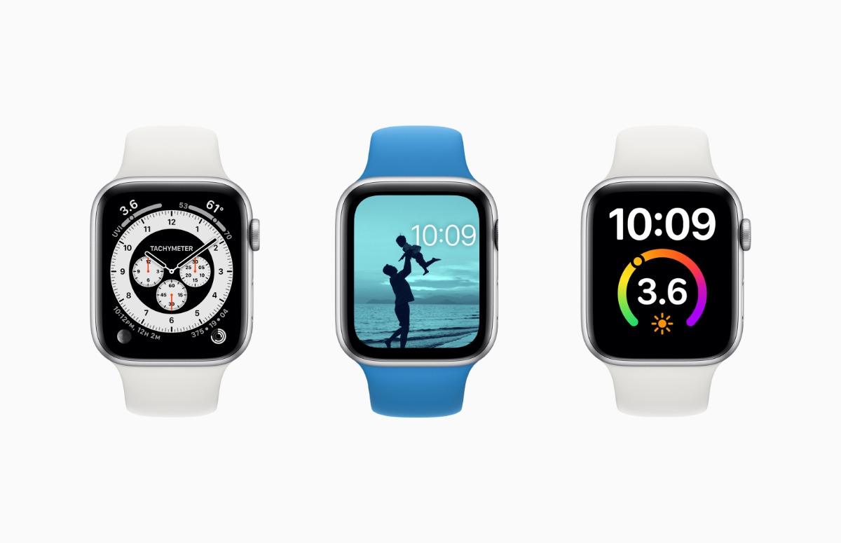 Dit zijn de 3 nieuwe wijzerplaten van watchOS 7