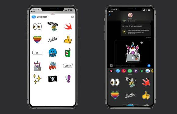 WWDC 2020 stickers