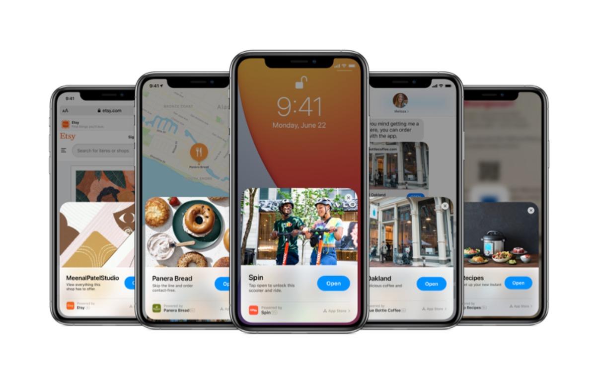 Apps gebruiken zonder installeren: zo werken App Clips in iOS 14
