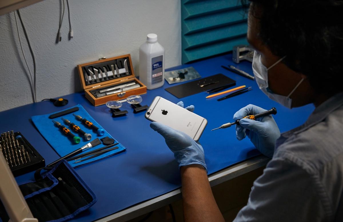 Apple gaat iPhone-onderdelen leveren aan externe Nederlandse reparateurs