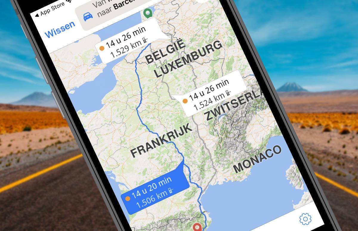 De weg vinden in het buitenland? Deze 4 navigatie-apps helpen daarbij