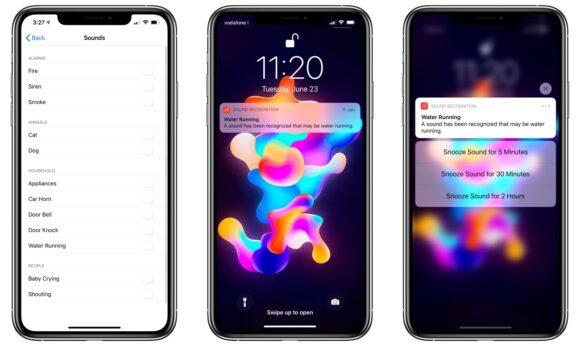 Geluidsherkenning iOS 14