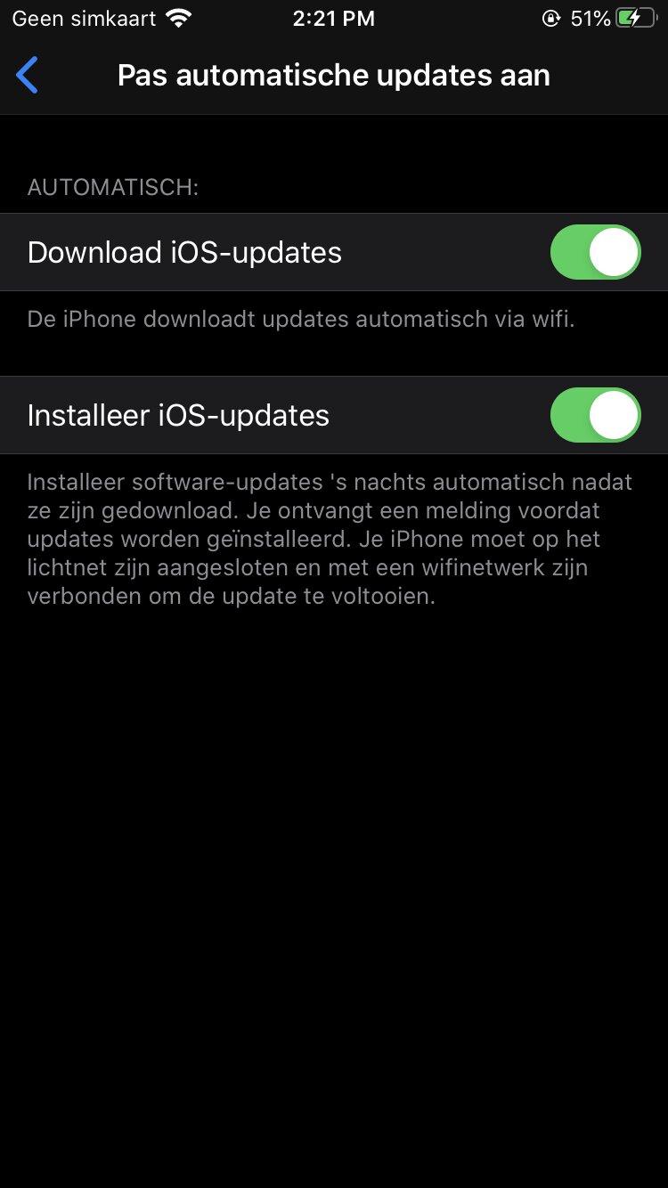 ios update downloaden