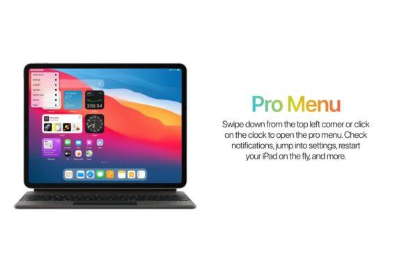 iPadOS 15 verwachtingen Pro Menu