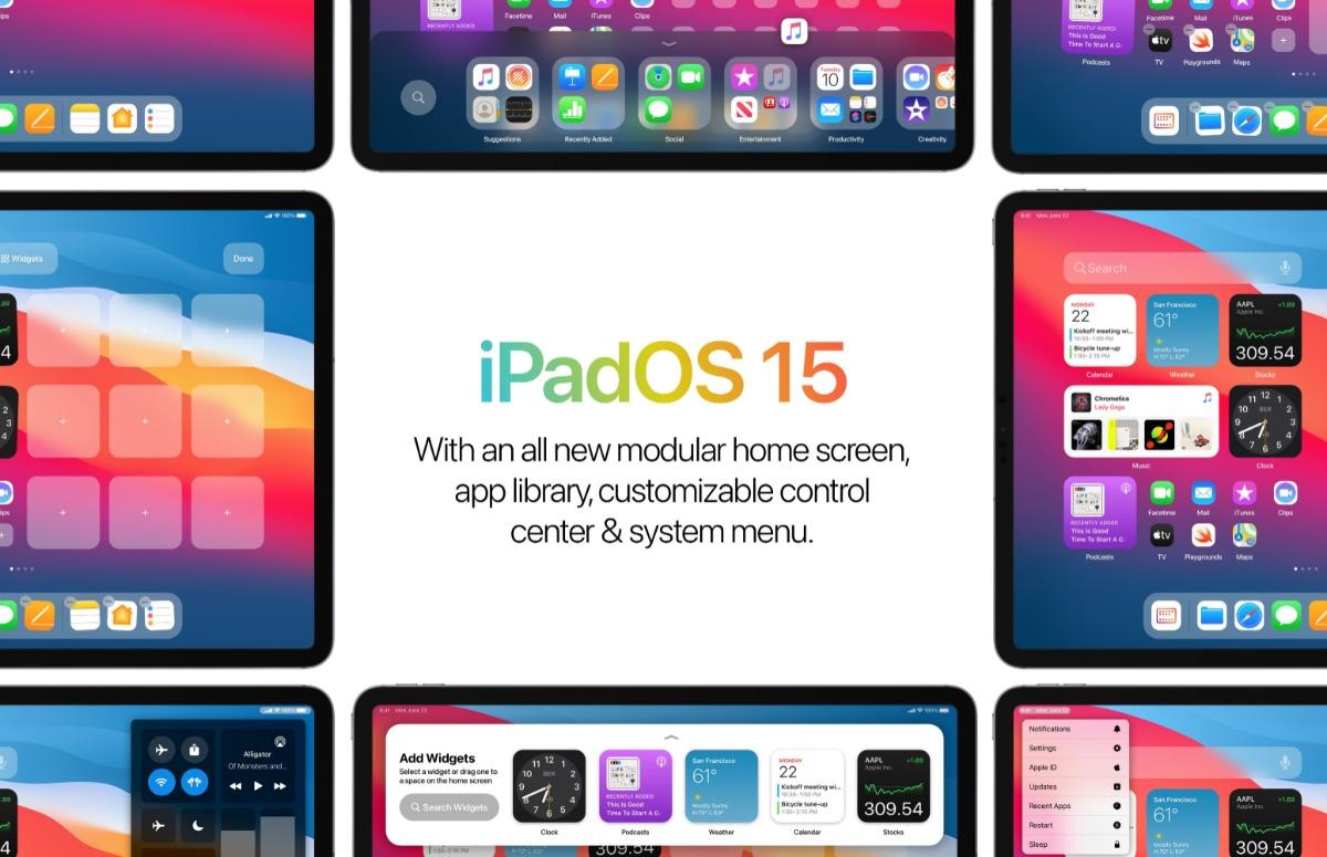 Concept: iPadOS 15 met nieuw thuisscherm, betere widgets en meer