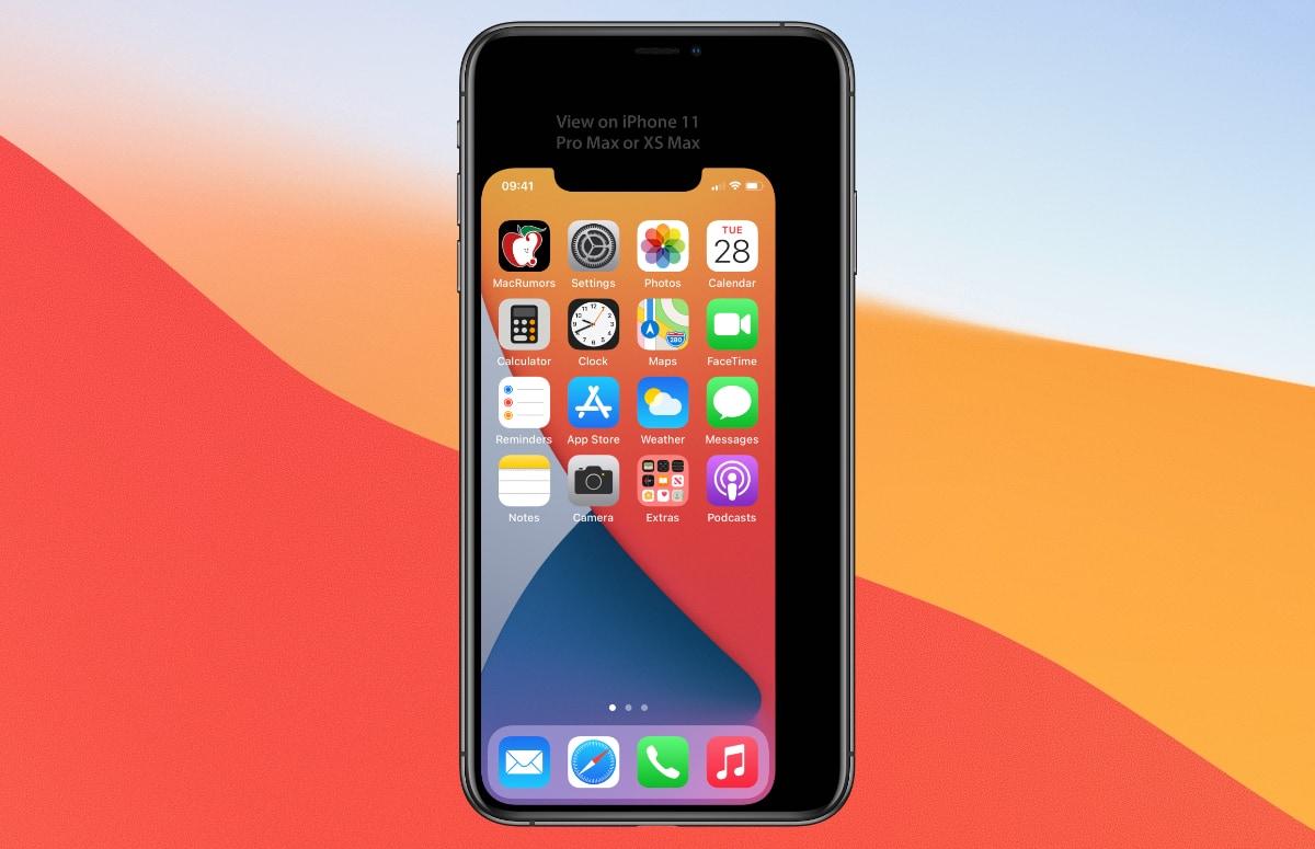 iPhone 12 mini: probeer zelf hoe klein het scherm wordt