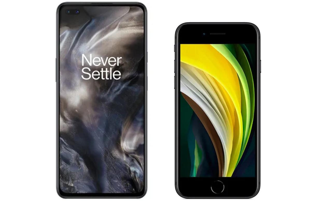 iPhone SE vs OnePlus Nord