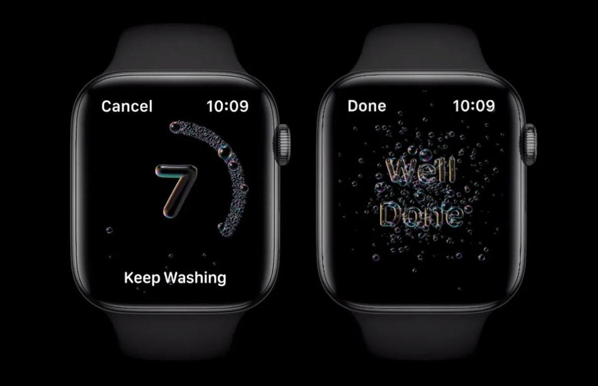 Uitleg: Zo gaat watchOS 7 je helpen tijdens het handen wassen