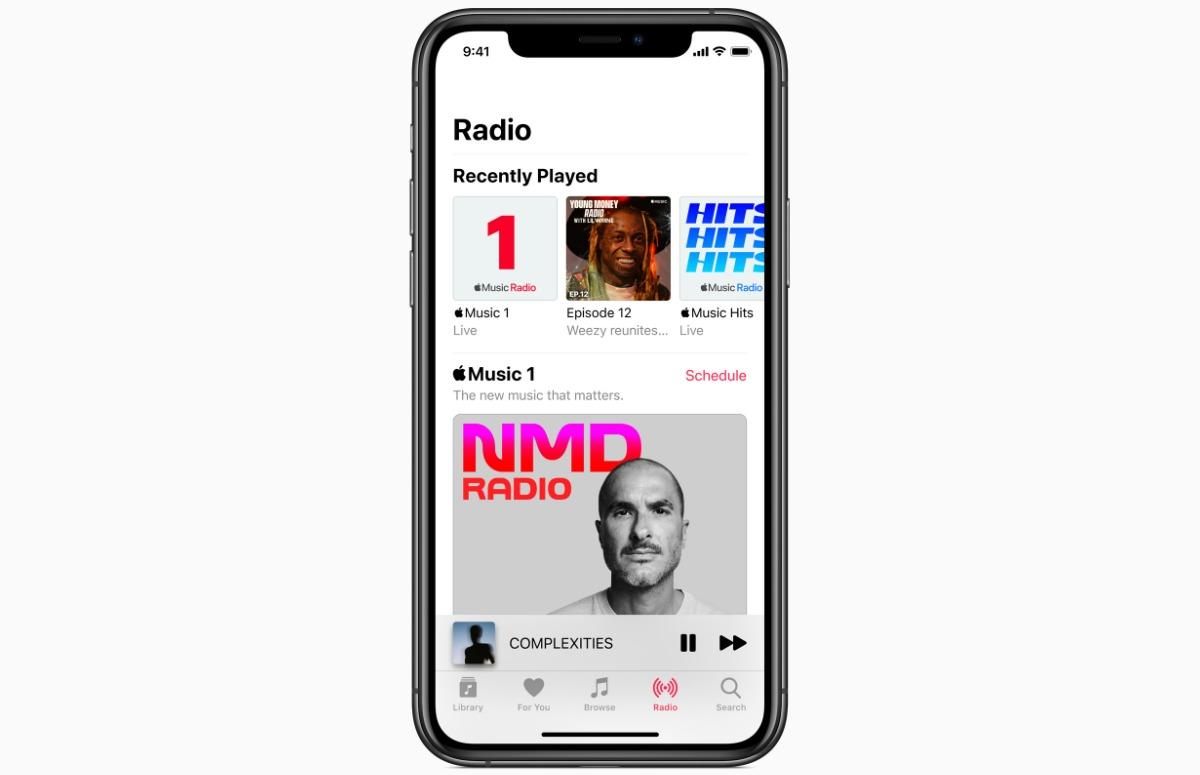 Apple kondigt twee nieuwe radiostations aan en geeft Beats 1 een andere naam