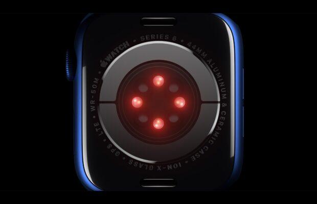 apple watch series 6 saturatiemeter