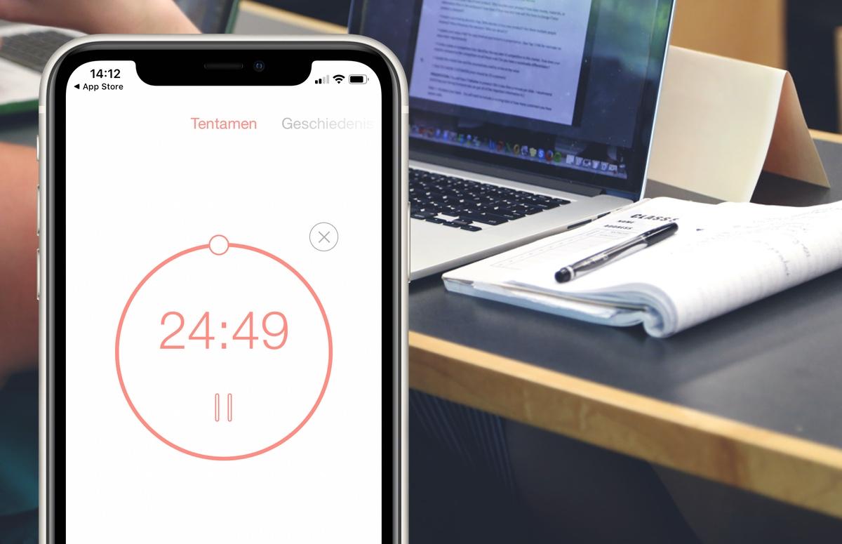 Met deze concentratie-apps blijf je gefocust tijdens de studie