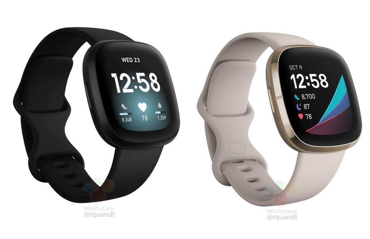 'Fitbit Versa 3 en Fitbit Sense lekken uit op gedetailleerde afbeeldingen'