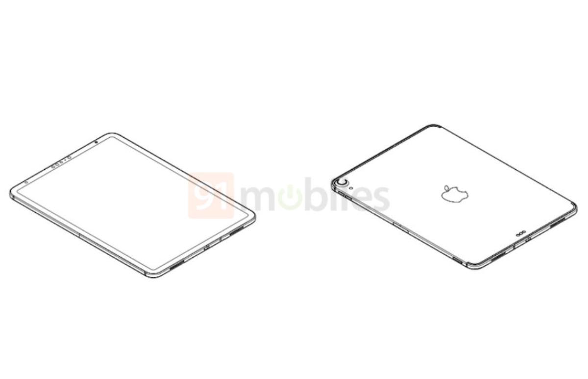 'Schematische tekeningen iPad Air 2020 tonen nieuw design, Face ID en usb-c'