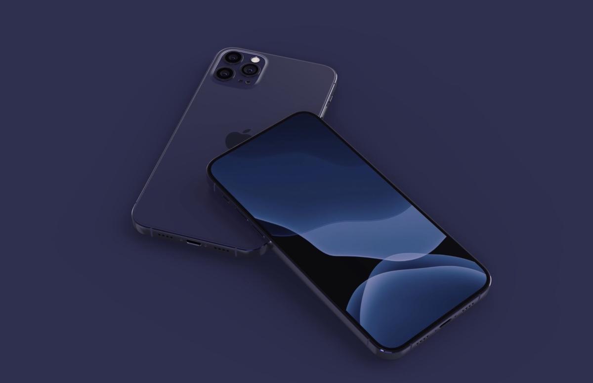 'iPhone 12 krijgt donkerblauwe kleur en LiDAR-camera'