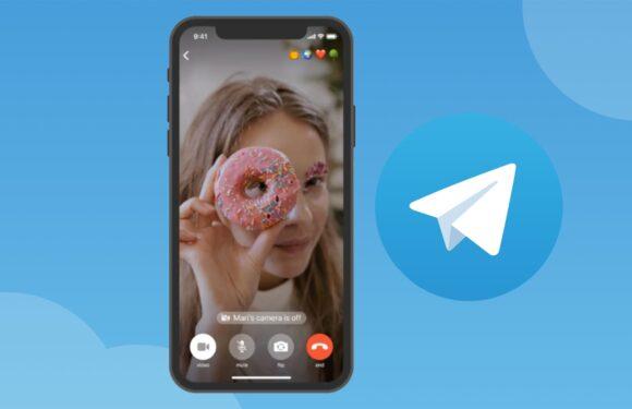 Telegram videobellen