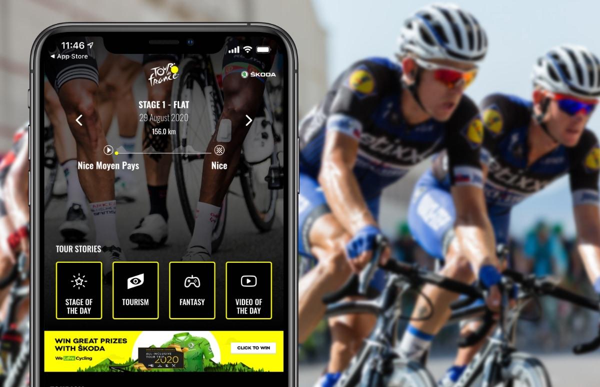 4 iPhone-apps die je op de hoogte houden van de Tour de France