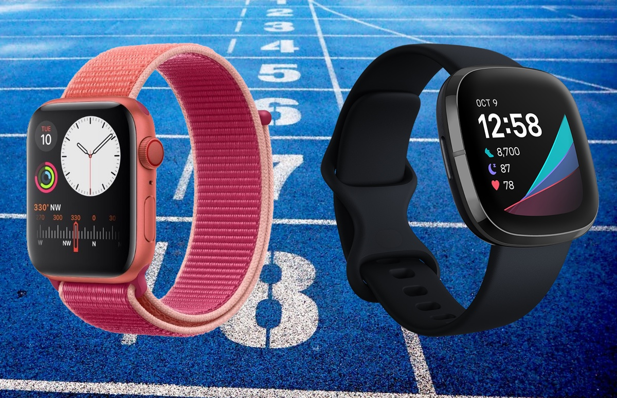 Apple Watch Series 5 vs Fitbit Sense: de smartwatches vergeleken