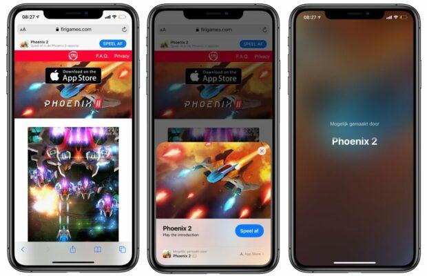 iOS 14 App Clips games