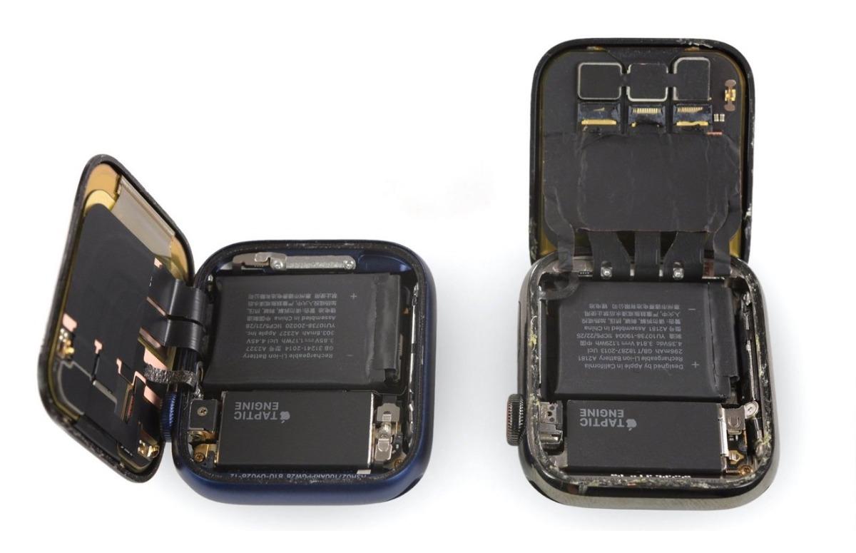 Teardown: Apple Watch Series 6 heeft iets grotere accu dan voorganger
