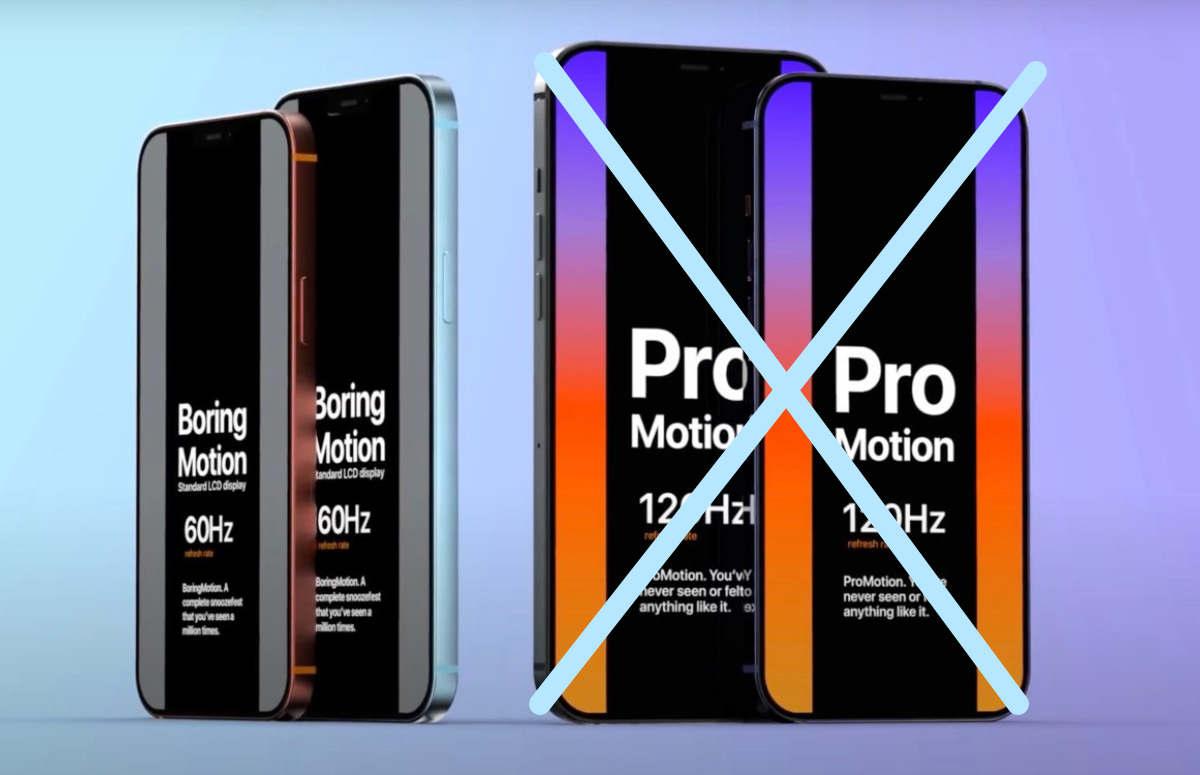 'iPhone 12 Pro (Max) krijgt definitief geen vloeiend 120Hz-scherm'