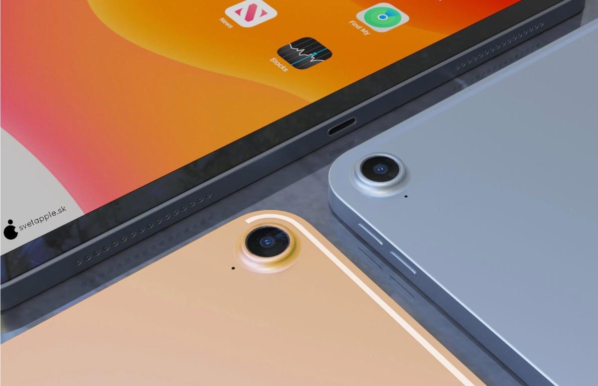 iPad Air 2020 concept: nieuw design, Touch ID in vergrendelknop en meer