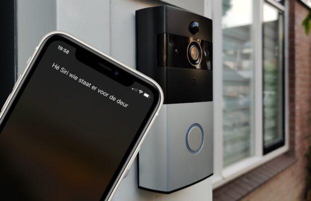 Siri deurbel