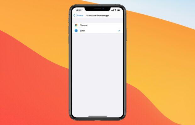 iPhone standaard browser
