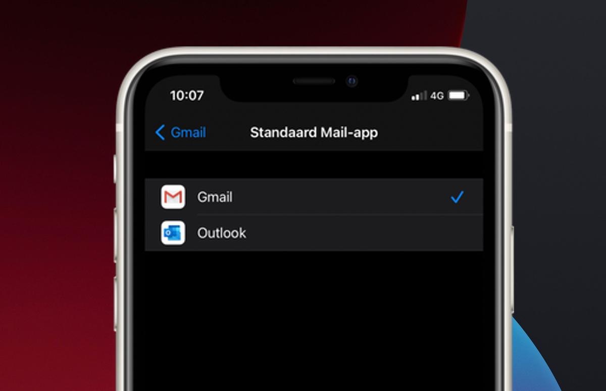 iOS 14: Zo kies je zelf een standaard Mail-app op je iPhone