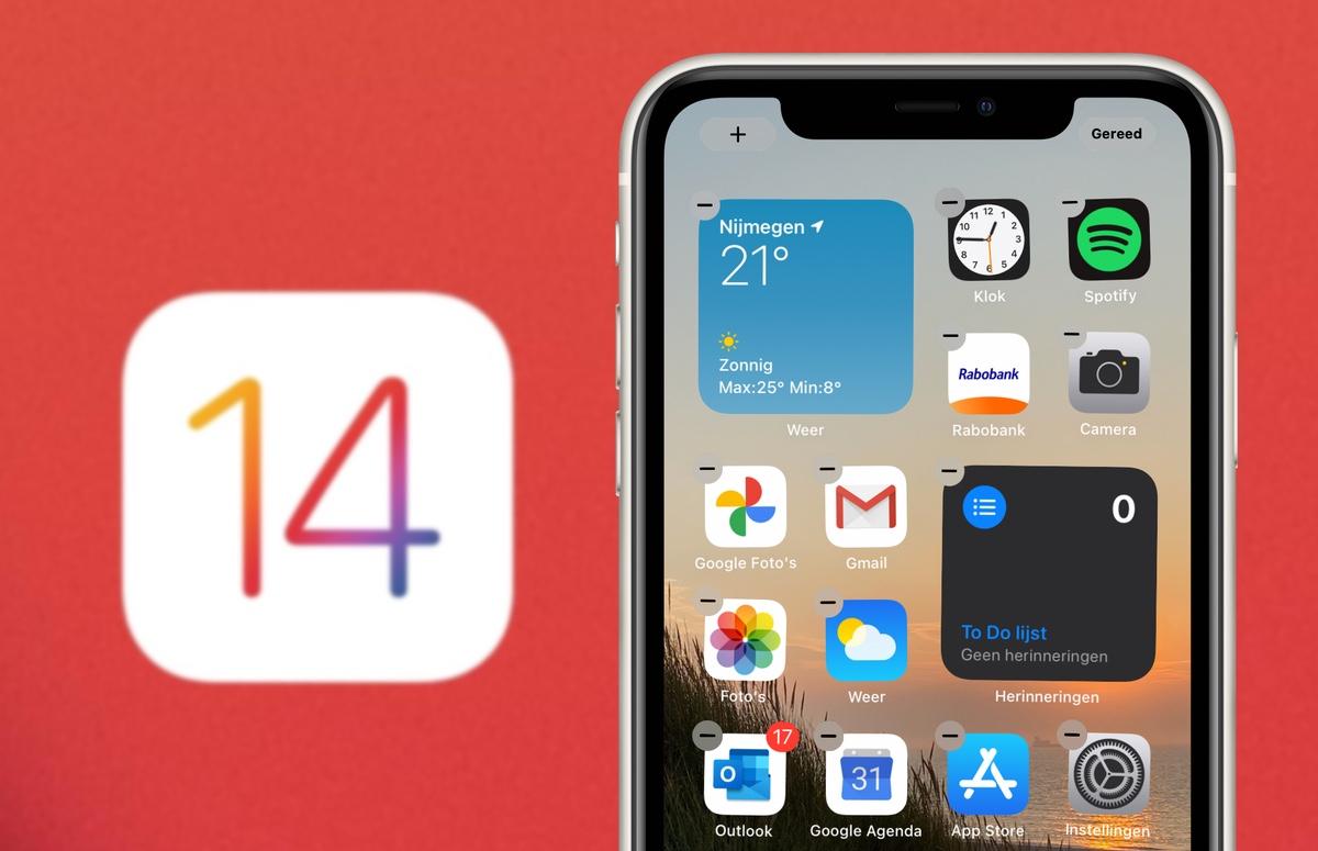Tip: Zo werken widgets in iOS 14