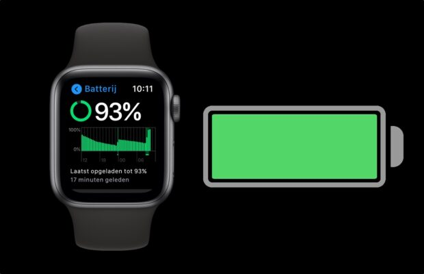 Apple watch batterij