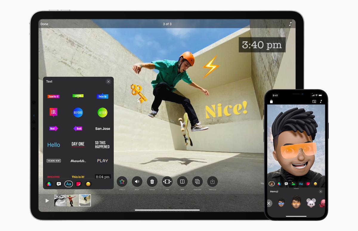 Apple geeft videobewerking-app Clips grote update