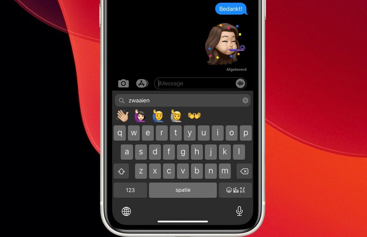 iOS 14-tip: Zo zoek je naar emoji op je iPhone