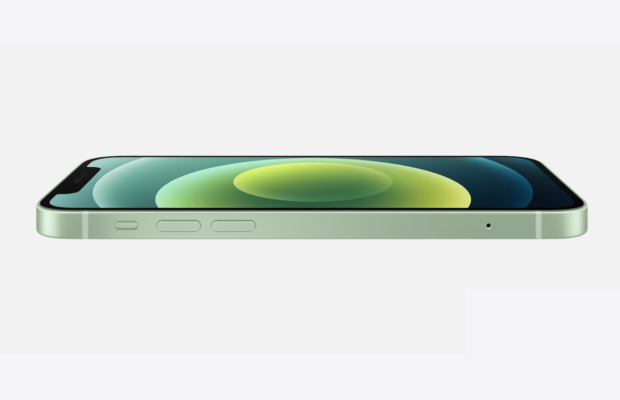 iPhone 12 zijkant