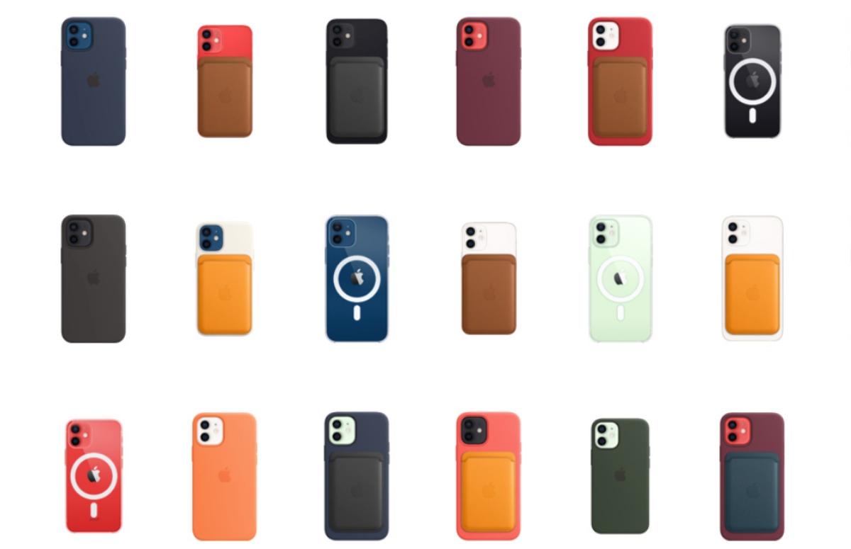 'Apple introduceert nieuwe kleuropties voor iPhone 12 MagSafe-hoesjes'