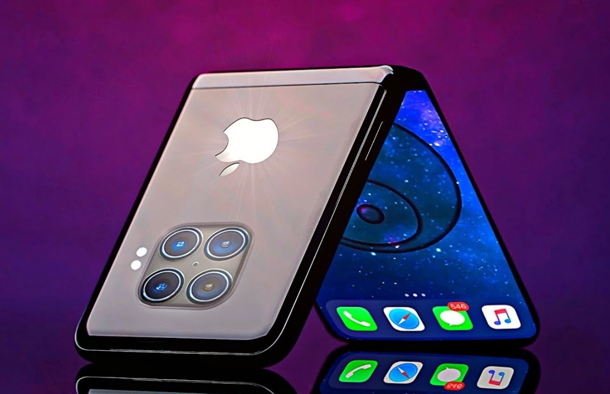 'Apple werkt aan opvouwbare iPhone met zelfhelend scherm dat zichzelf repareert'