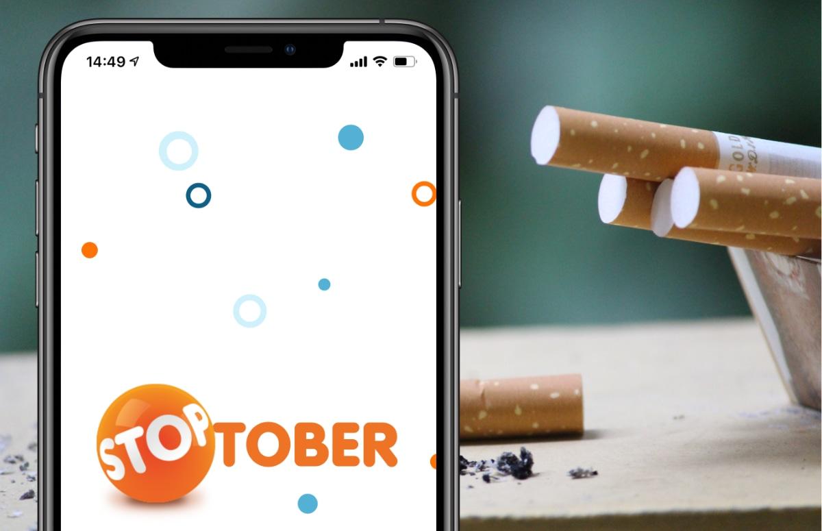 Stoptober 2020: Succesvol stoppen met roken met de Stoptober-app