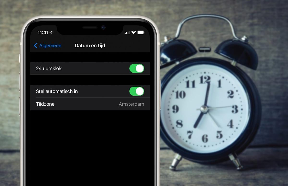 Zo stel je de wintertijd in op je iPhone