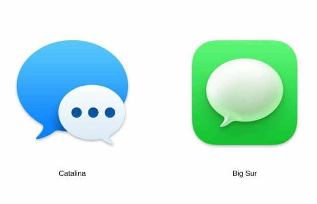 macOS Big Sur-functies van iOS
